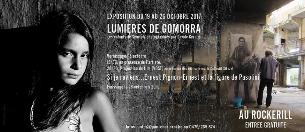 EXPO - Lumières de Gomorra - Les enfants de Scampia