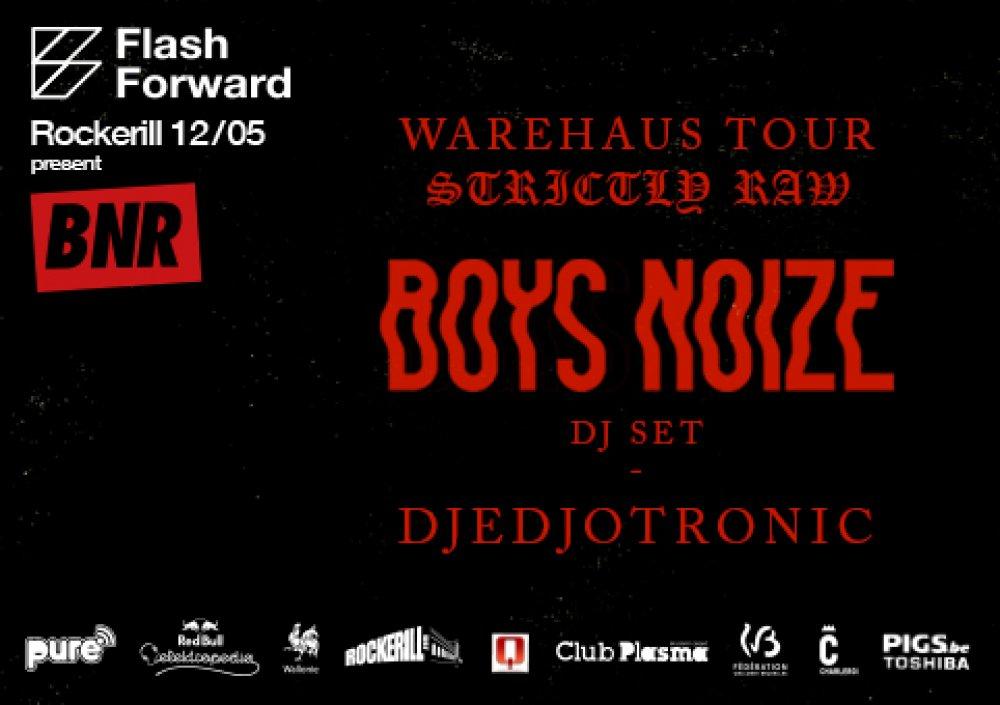 Flashforward: Boys Noize + Djedjotronic