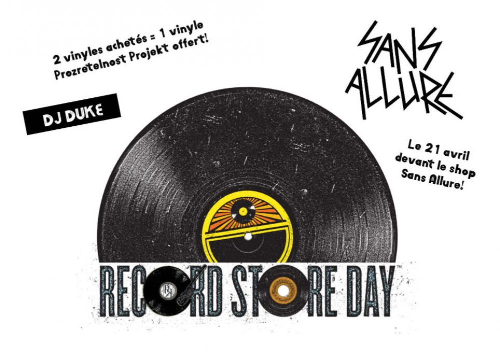Record Store Day: Rockerill Records @ Sans Allure