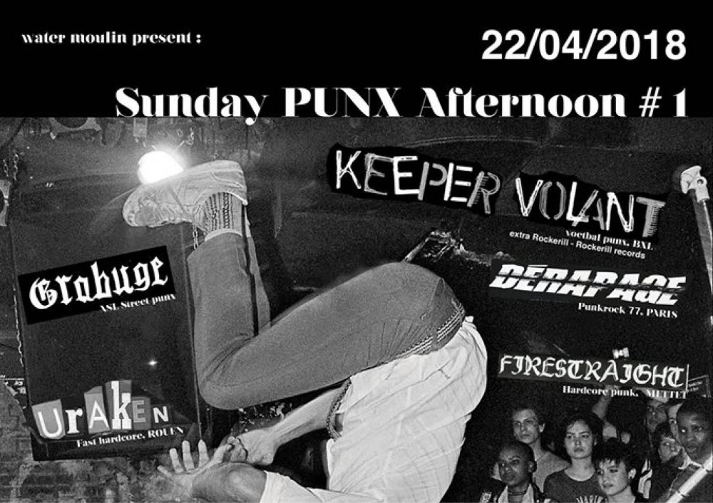Sunday Punx Afternoon : Les Extras Rockerill