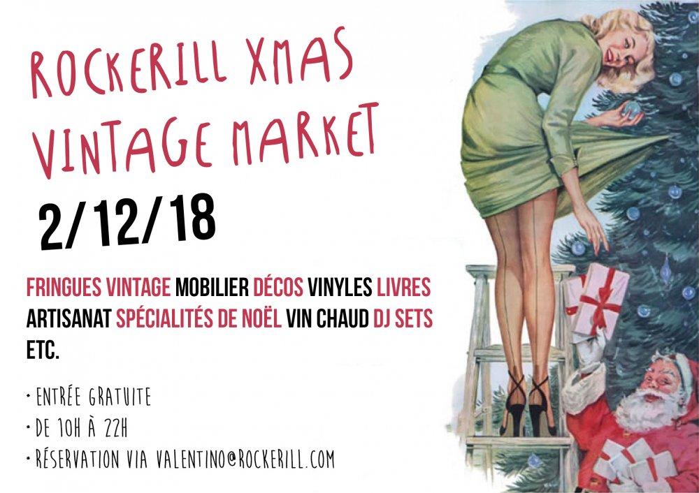 Rockerill Xmas Vintage Market