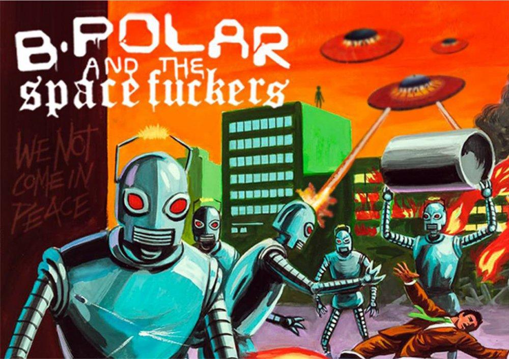 B.Polar & the Spacefuckers / Les extras Rockerill
