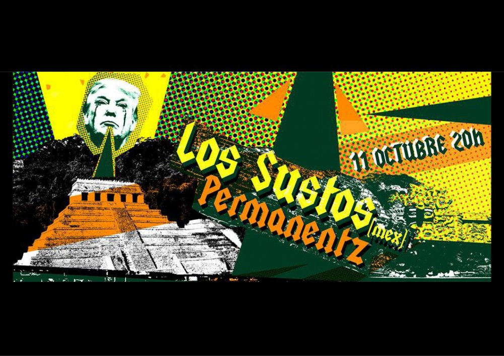 The Permanentz & Los Sustos / Les Extras Rockerill