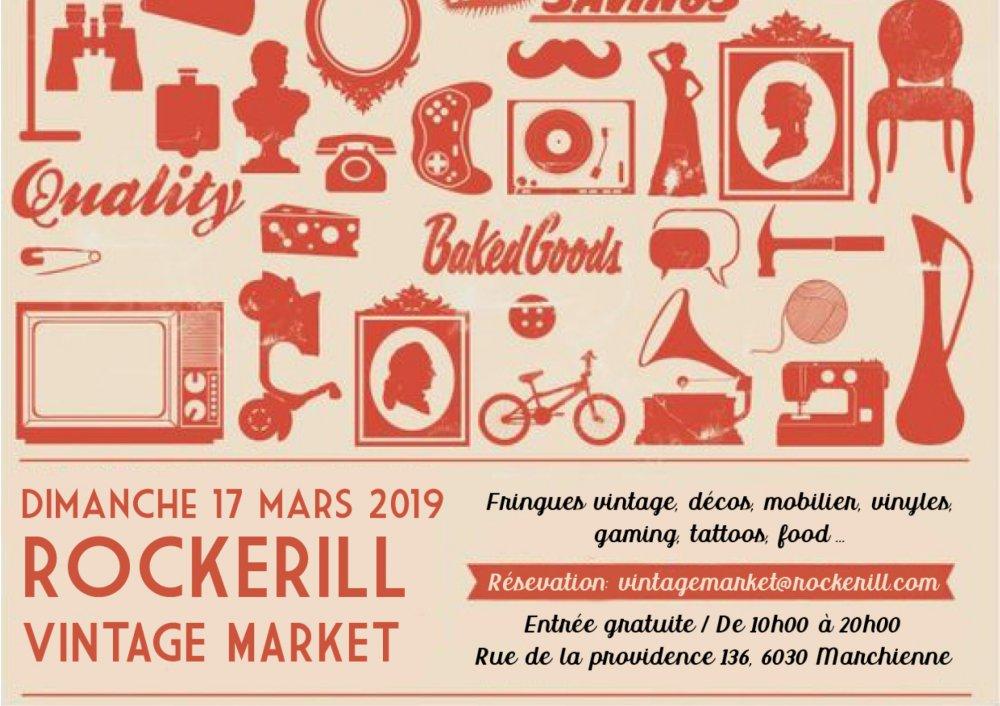 Rockerill Vintage Market #3