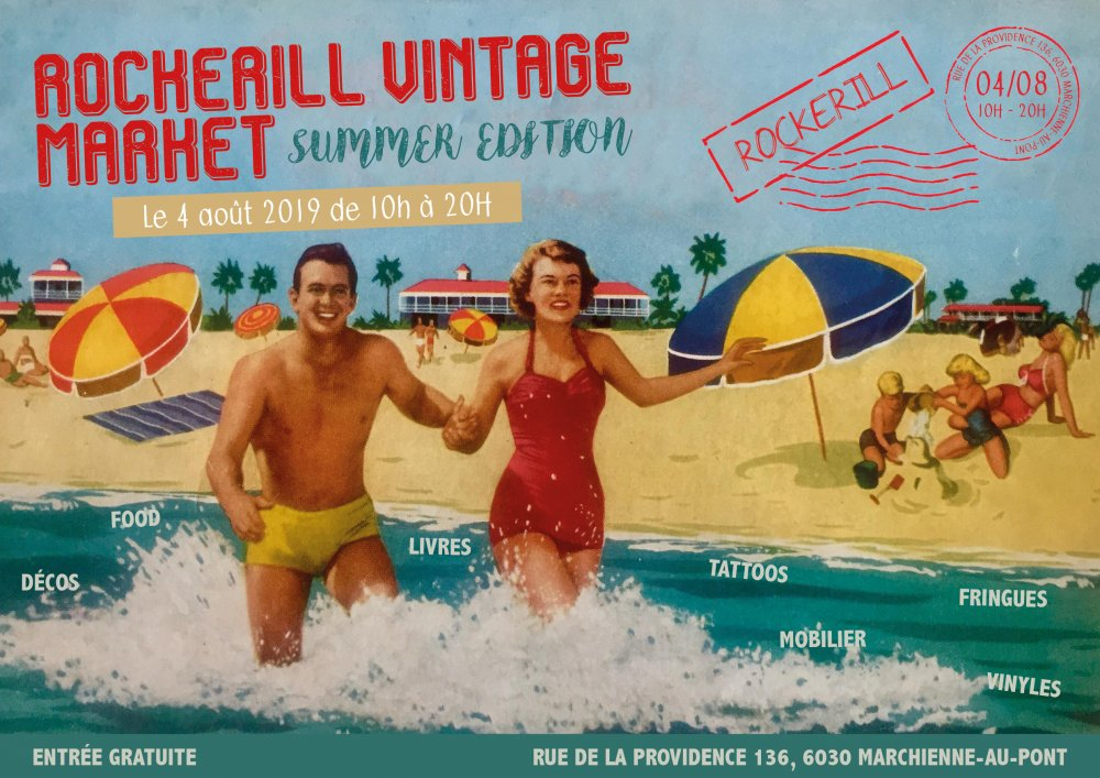 Rockerill Vintage Market - Summer Edition