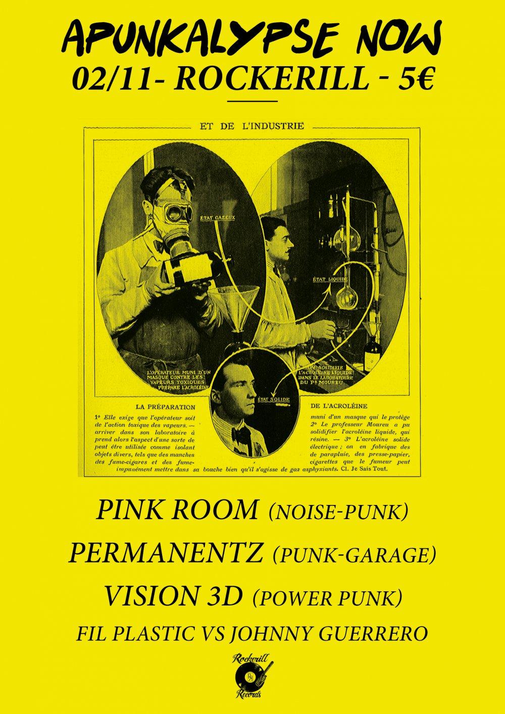 Apunkalypse Now! Pink Room/Vision 3D/ Permanentz