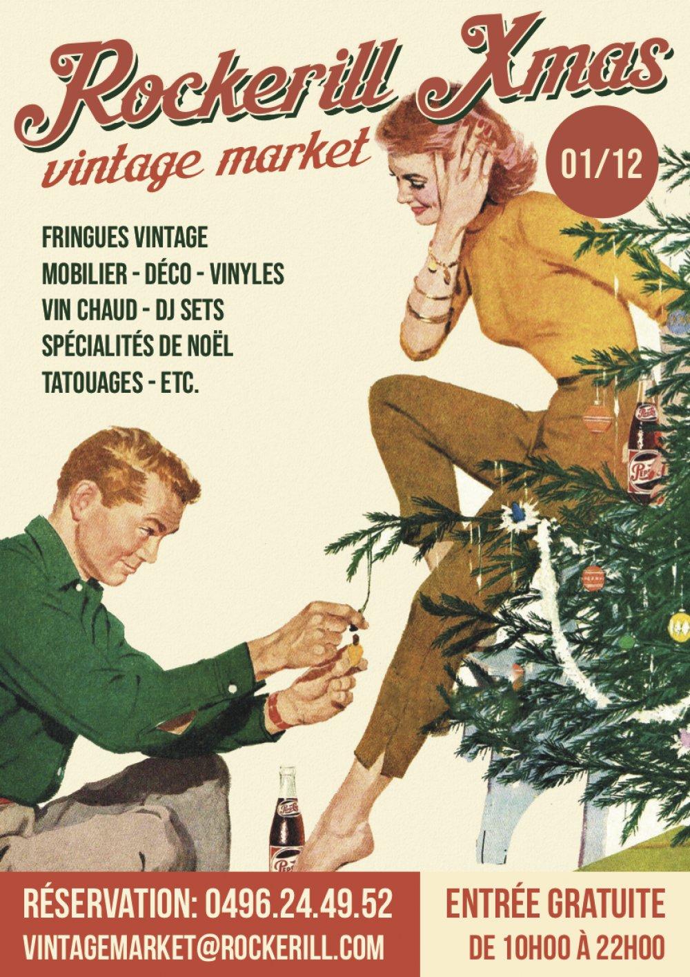 Rockerill XMas Vintage Market !