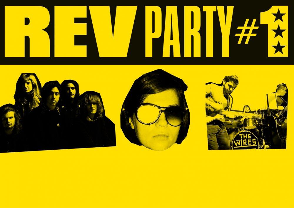 R.E.V Party #1 : The Mystery Lights / Lispector / The WRS