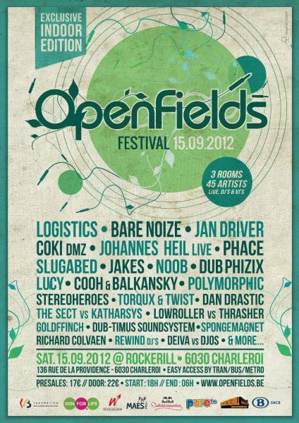 OPENFIELDS FESTIVAL 2012 - Exclusive Indoor Edition