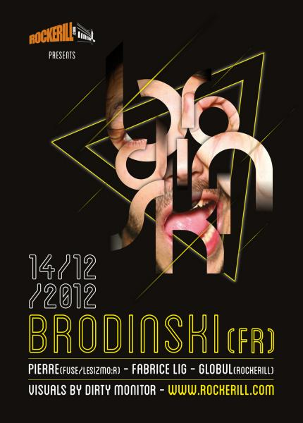 Rockerill présente Brodinski...