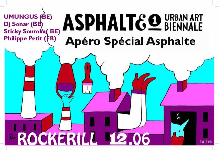 Les apéros Spécial ASPHALTE !