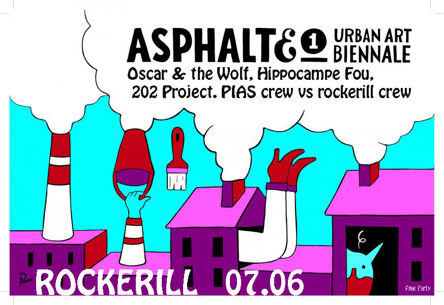After Party Vernissage Asphalte : Rockerill & PIAS