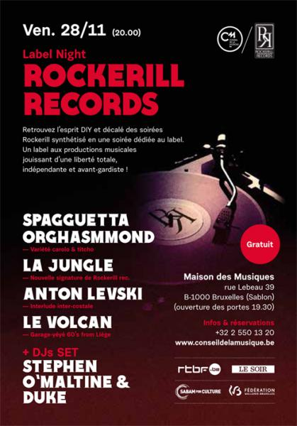 Rockerill Records Night