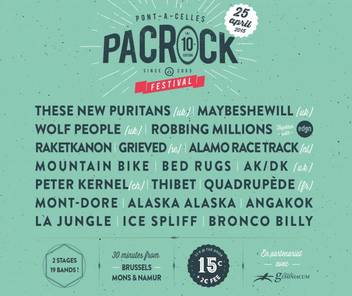 Pacrock Festival: Rockerill Records présente La Jungle