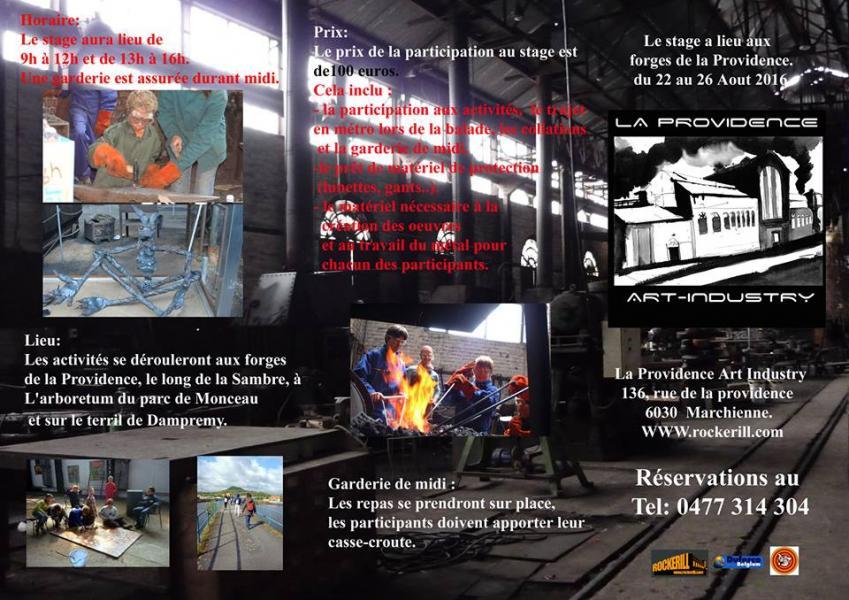 Stage de Forges et Arts Plastiques