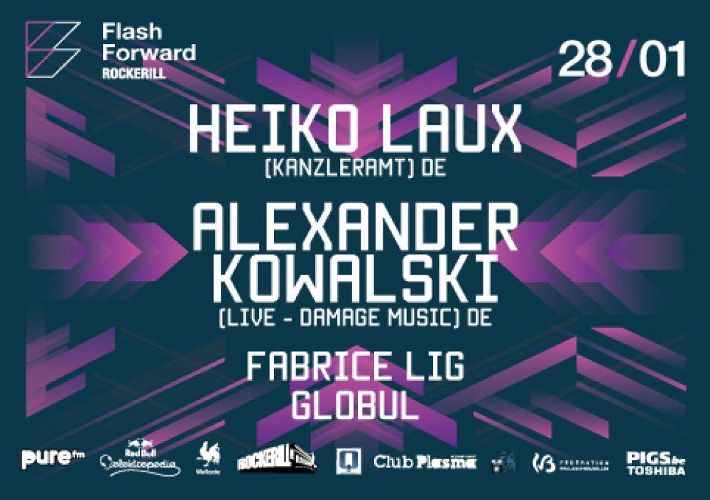 FlashForward Kanzleramt: Alexander Kowalski (live) + Heiko Laux