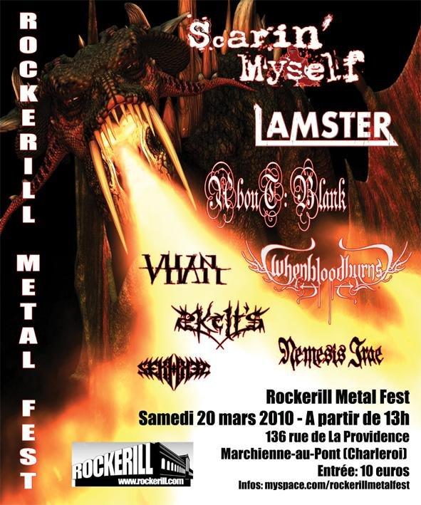 ROCKERILL METAL FEST.