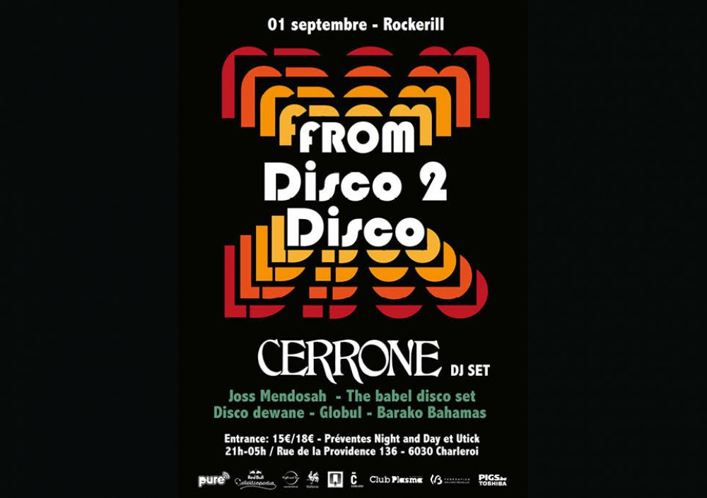 From Disco 2 disco: Cerrone (dj set) & more