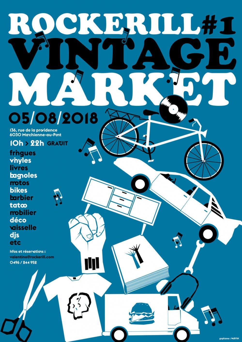 Rockerill Vintage Market #1