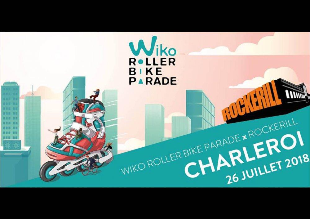 Wiko Roller Bike Parade Charleroi