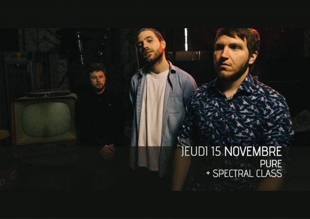 LES EXTRAS: PURE (RELEASE PARTY) @ VECTEUR