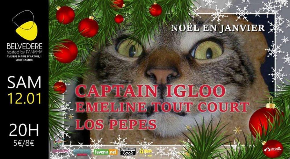 NOËL EN JANVIER // LES 30 ANS DE CAPTAIN IGLOO