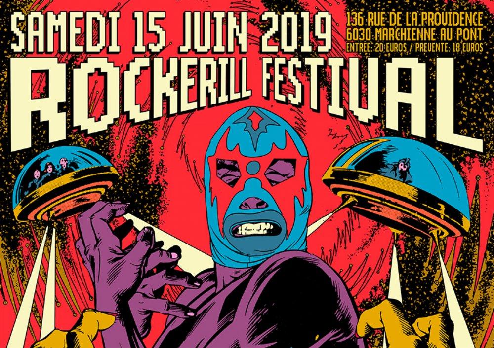 ROCKERILL FESTIVAL VI + GALA DE CATCH + VINYLE MARKET