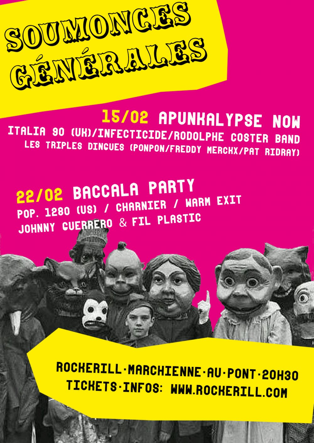 BACCALÀ PARTY WITH POP.1280 !