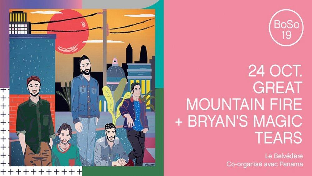 GREAT MOUNTAIN FIRE / BRYAN'S MAGIC TEARS / BEAUTÉS SONIQUES