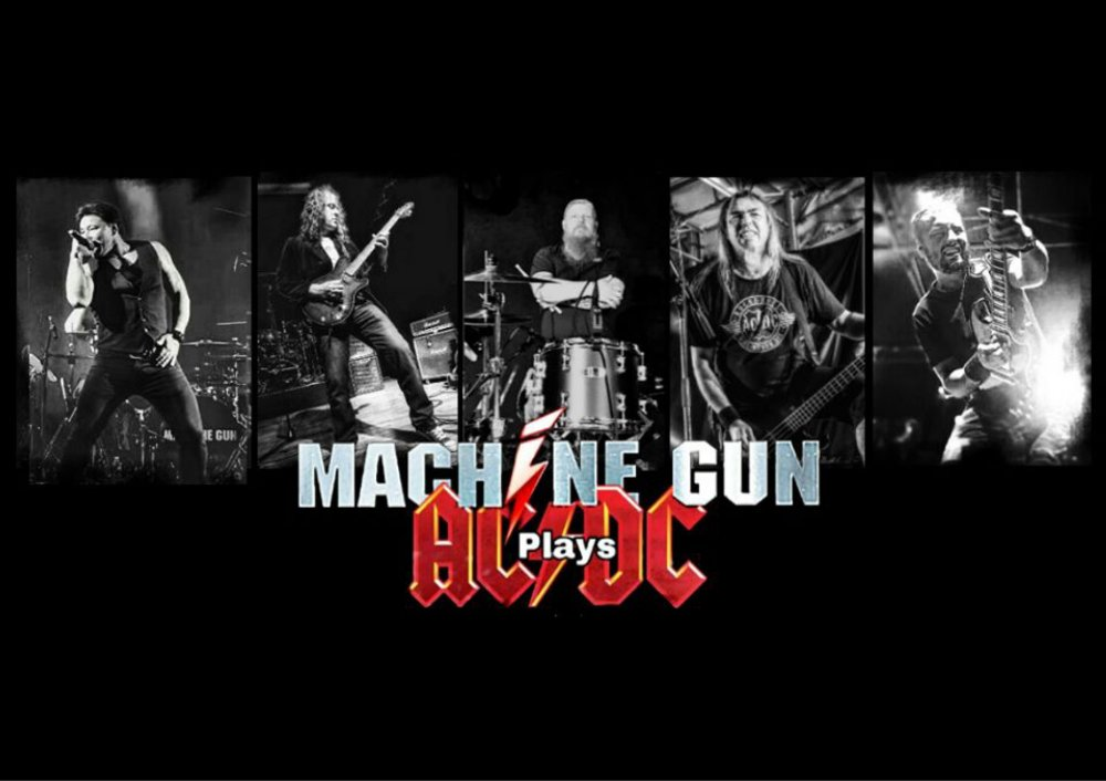 Machinegun plays AC/DC