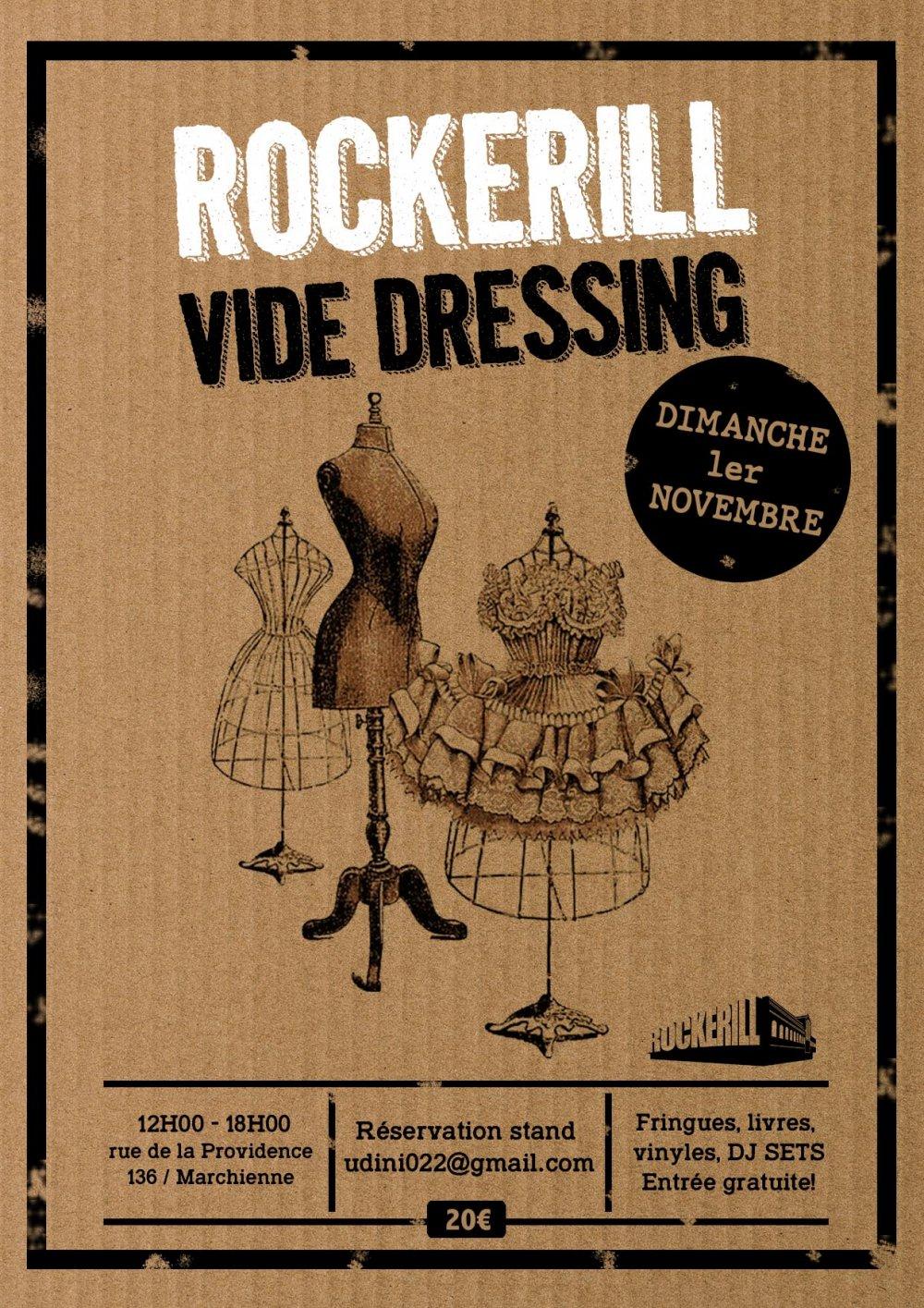 Rockerill Vide Dressing (reporté à une date ultérieure)...