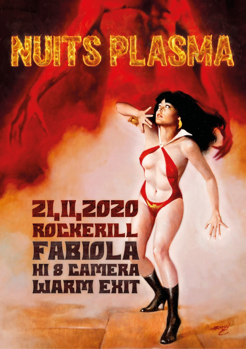 Les Nuits Plasma: Fabiola/ I H8 camera/ Warm-Exit (reporté...