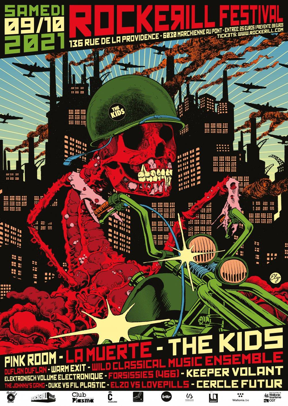 ROCKERILL FESTIVAL: The Kids + La Muerte & more