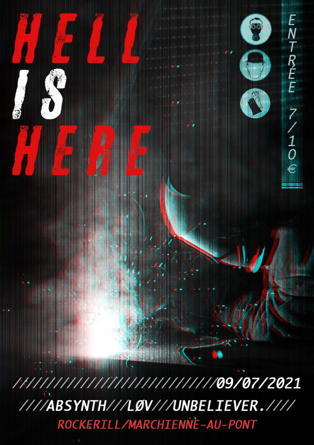 Hell is Here! Absynth + LØV + unbeliever.