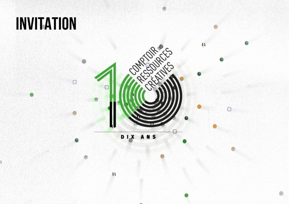 10 ANS - Comptoir des Ressources Créatives