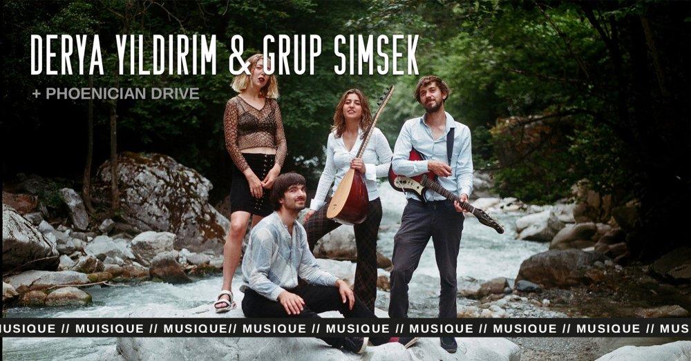 Derya Yıldırım & Grup Şimşek + Phoenician Drive · Eden...
