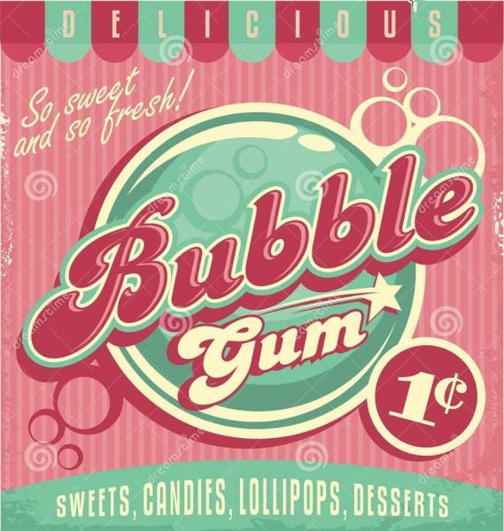 BUBBLE GUM PARTY !