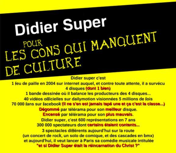 Concert Didier Super + L'Ancre présente