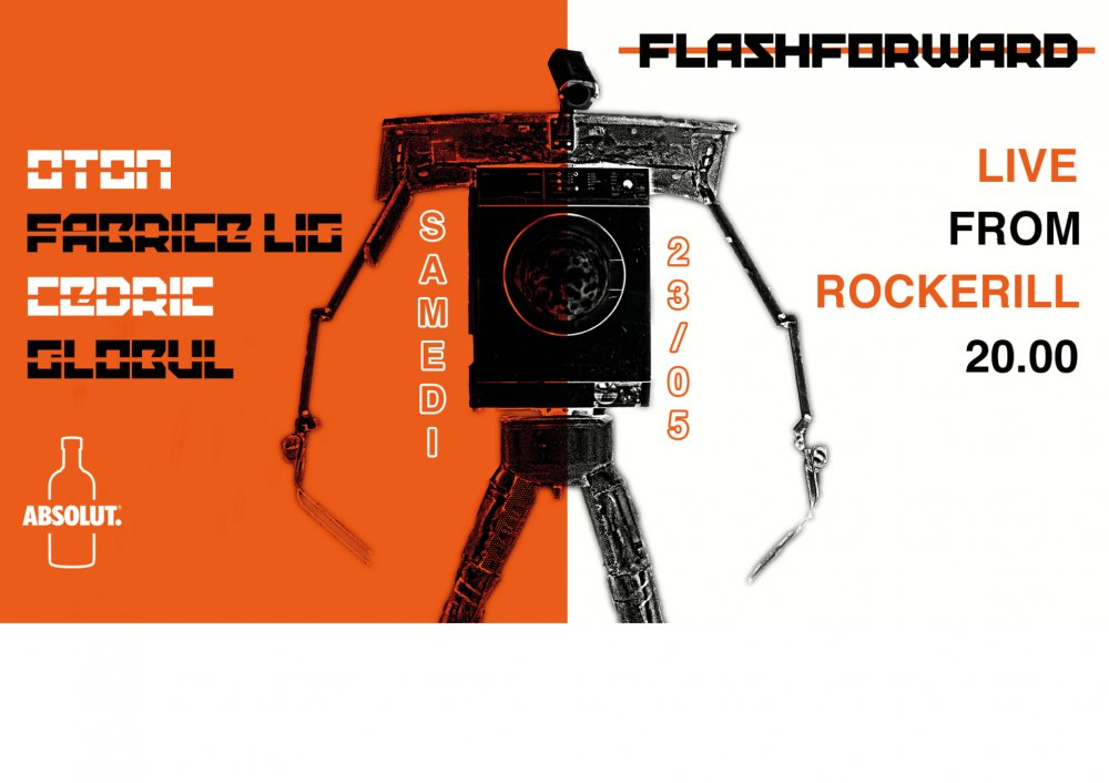 Flasforward x Absolut: Live From Rockerill